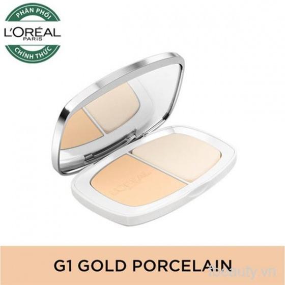 Phấn nền mịn da LOreal True Match Even Perfecting Powder Foundation SPF32PA+++ G1 Gold Porcelain