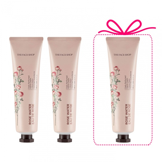 Kem dưỡng tay The Face Shop Daily Perfumed Hand Cream 01 Rose Water 30ml