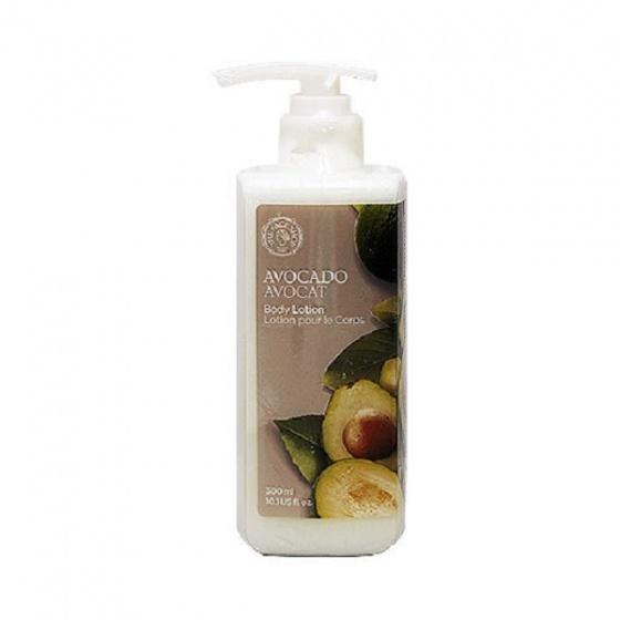 Sữa dưỡng thể cung cấp ẩm The Face Shop Avocado Body Lotion 300ml
