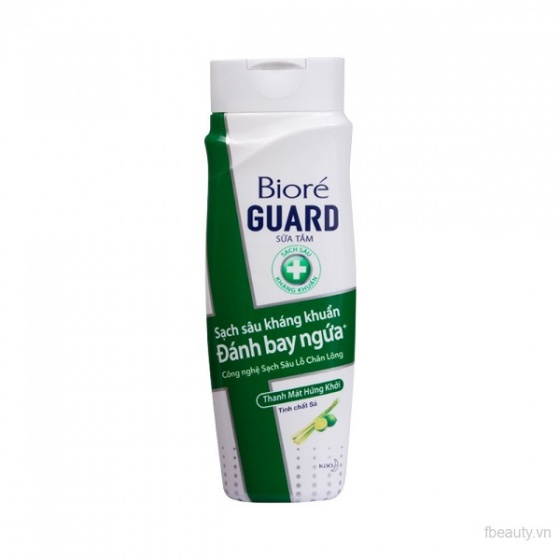 Sữa tắm kháng khuẩn thanh mát hứng khởi Bioré Guard 220ml