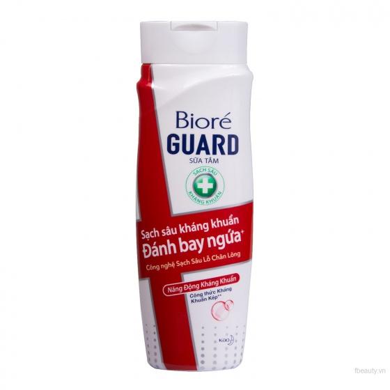 Sữa tắm kháng khuẩn năng động kháng khuẩn Bioré Guard  220ml