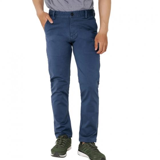 Quần kaki dài nam co giãn regular cao cấp pigofashion qkk01 (xanh công)