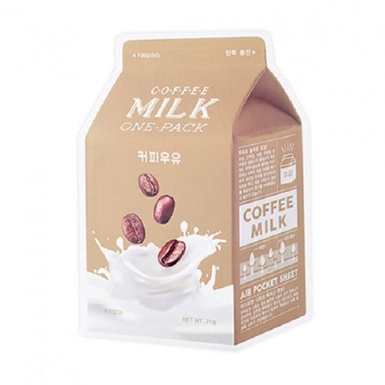 Mặt nạ dưỡng da Apieu coffee milk mask 21ml