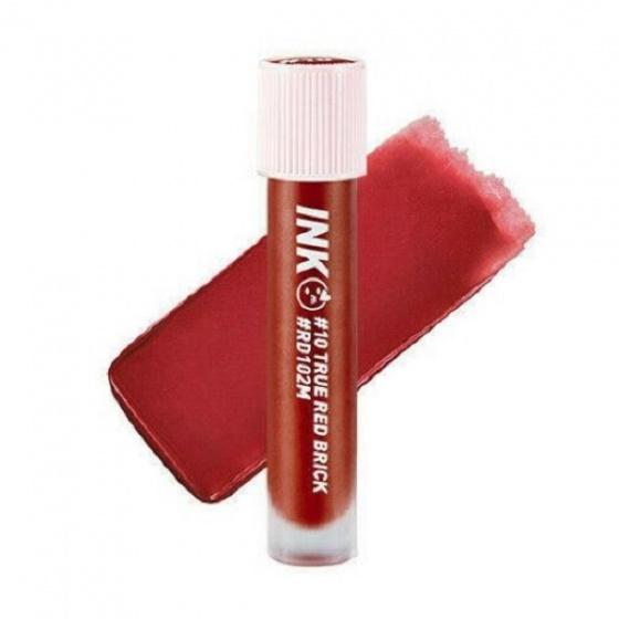 Son kem Peripera ink matte blur tint 10 true red brick