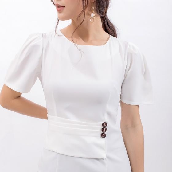 Áo kiểu công sở thời trang Eden - ASM081