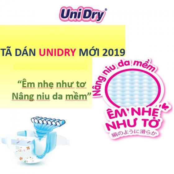 Tã dán UniDry (G6+) size L38 - dành cho bé cân nặng từ 9 đến 14kg