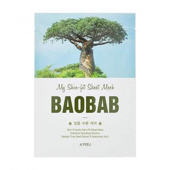 Mặt nạ Apieu My Skinfit Sheet Mask Baobab Tree 21ml