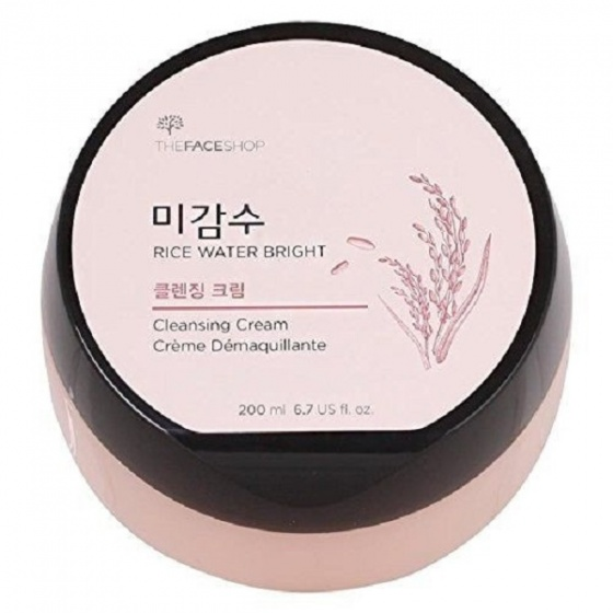 Kem tẩy trang The Face Shop rice water bright cleansing cream 400ml