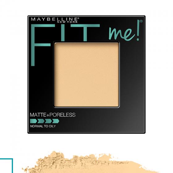 Phấn nền Maybelline fit me matte poreless powder 110 pore