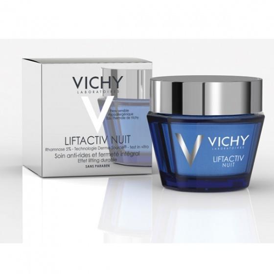 Kem dưỡng mờ vết nhăn và làm săn chắc da ban đêm Vichy liftactiv supreme night cream 50ml