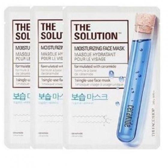 Mặt nạ cấp ẩm phục hồi da The Face Shop The Solution Moisturizing Face Mask 20ml