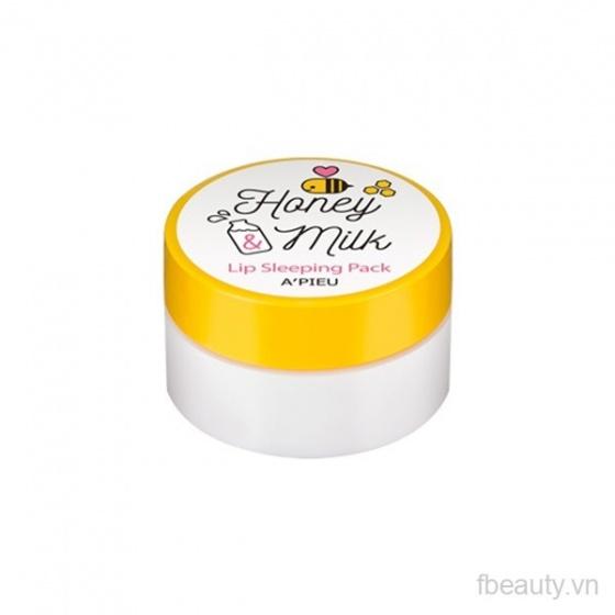 Mặt nạ ngủ môi A'pieu Honey Milk Lip Sleeping Pack 6.7g