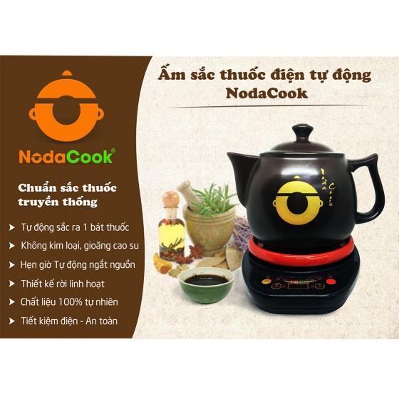 Ấm sắc thuốc bắc bằng điện dung tích 4,2 lít NodaCook Bát Tràng