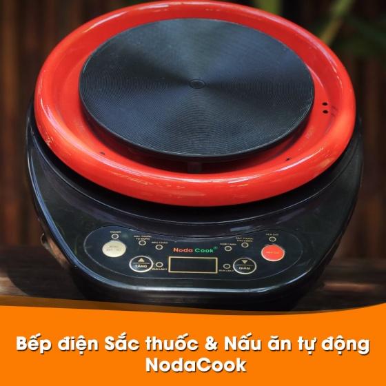Siêu sắc thuốc 2 lít bằng điện tự động NodaCook (đen)