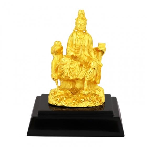 Tượng Phật Bà Quan Âm mạ vàng 24K