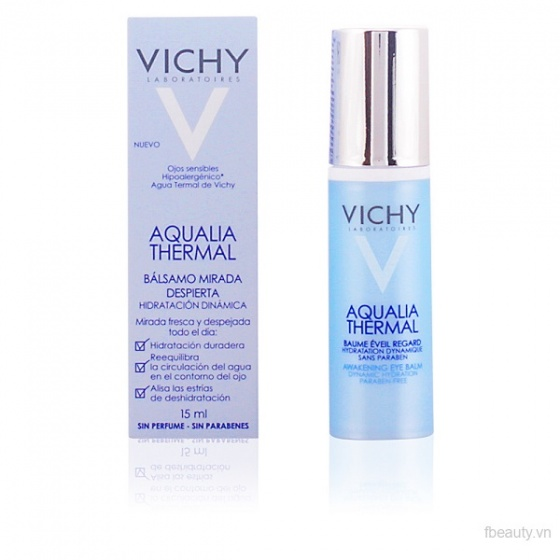 Kem dưỡng ẩm cho mắt Vichy Aqualia Thermal Awakening Eye Balm Dynamic Hydration 15m