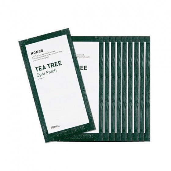 Miếng dán mụn Apieu Nonco Tea Tree Spot Patch Set 82