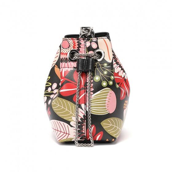 Túi xách Venuco Madrid S410 - Đen Bloom - D13S410