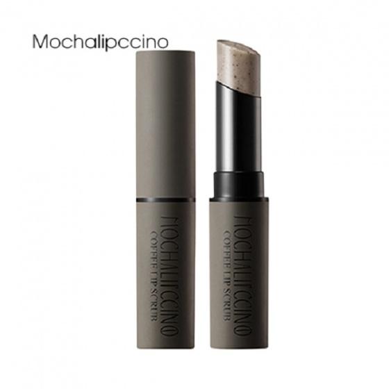 Tẩy tế bào chết môi Apieu Coffee Lip Scrub Mochalipccino 5g