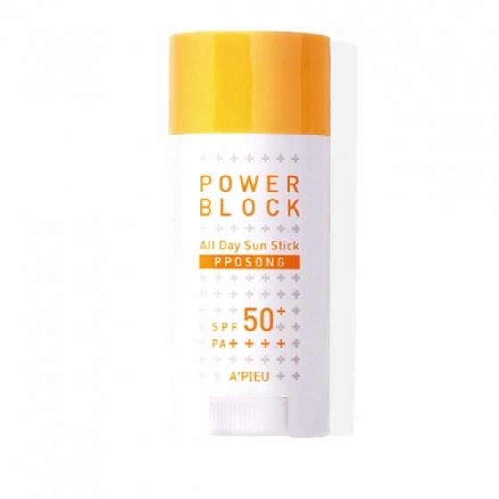 Kem chống nắng kiềm dầu Apieu Power Block Sun Cream Pposong Spf50PA 50ml