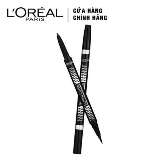 Bút kẻ mắt hai đầu LOreal Super Liner Superstar Duo Designer