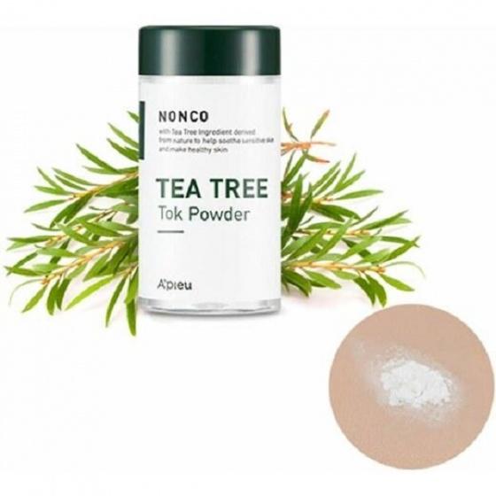 Bột tràm trà trị mụn Apieu Nonco Tea Tree Tok Powder 3ml