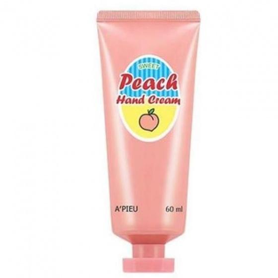 Kem dưỡng da tay đào Apieu Peach Sweet Handcream 60ml