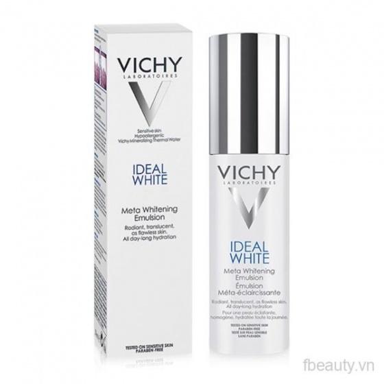 Sữa dưỡng sáng da, giảm thâm nám Vichy Ideal White Meta Whitening Emulsion50ml