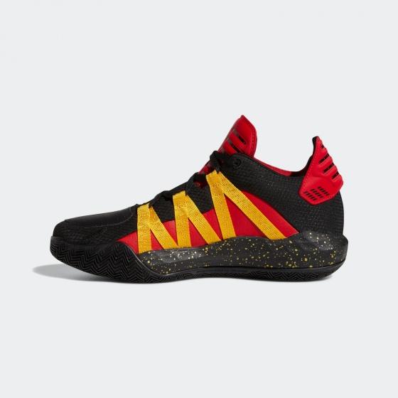 Giày bóng rổ chính hãng Adidas Dame 6 scarlet  gold metallic EH1994