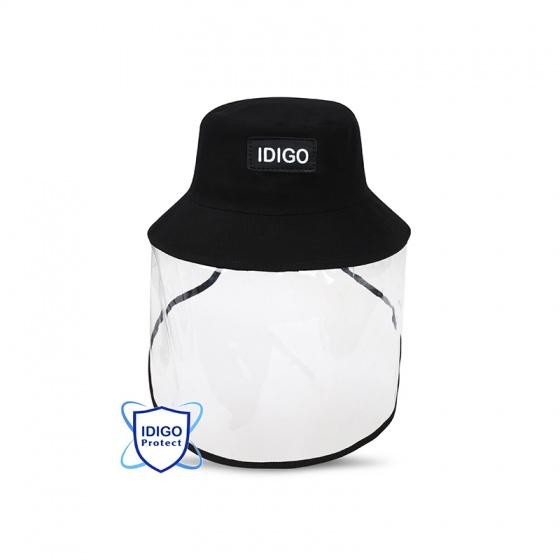 Nón bảo hộ thời trang phối tấm chắn bảo vệ mặt IDIGO
