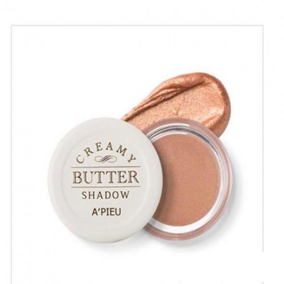 Phấn mắt nhũ Apieu Creamy Butter Shadow No2