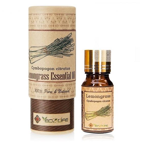 Tinh dầu sả chanh ECOLIFE - Lemongrass Essential Oil [QC-Vneshop]