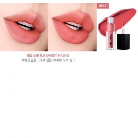 Son kem Moonshot Cream Paint LightFit Air 502 Sweet Mauve 3g