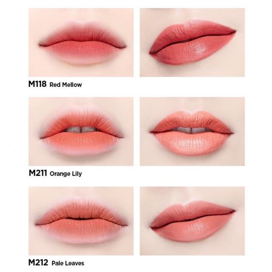 Son kem Moonshot Cream Paint Lightfit M118 Red mellow 9g
