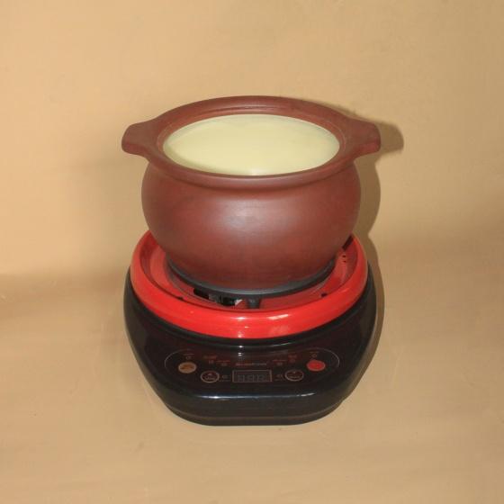 Nồi nấu đa năng đất nung chịu nhiệt 2 lít NodaCook tính năng kháng khuẩn