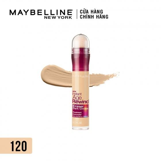 Bút cushion che khuyết điểm Maybelline giảm quầng thâm 120 light 6ml