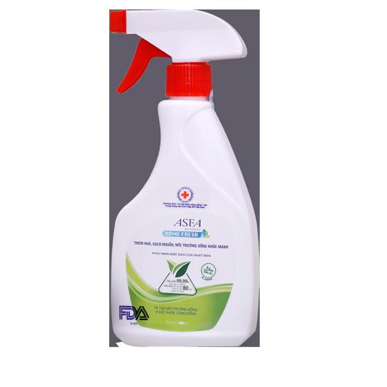 Bộ sản phẩm khử mùi, diệt khuẩn ASFA chăm sóc cơ thể và gia đình - Trắng - Freesize [QC-Vneshop]