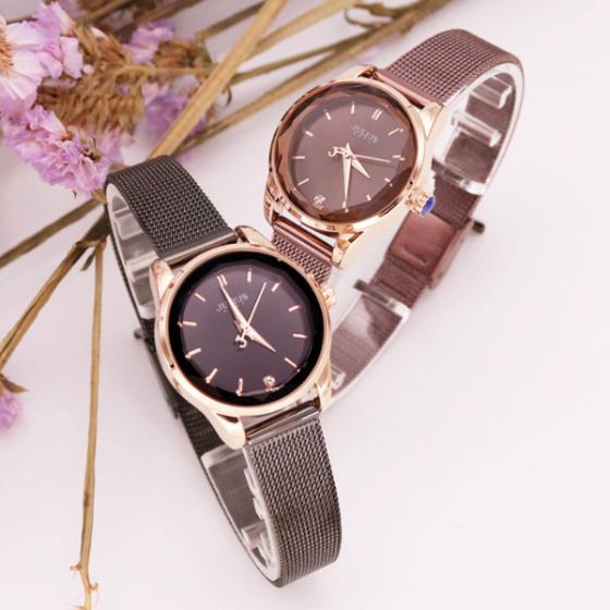 Đồng hồ nữ dây kim loại chính hãng JULIUS Hàn Quốc JA-1040E