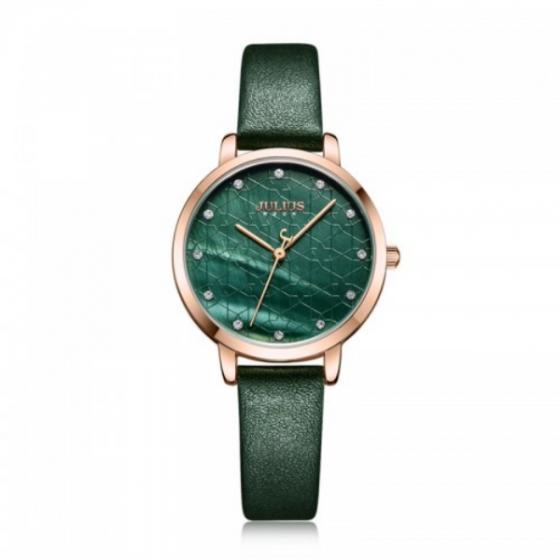 Đồng hồ nữ chính hãng JULIUS Hàn Quốc JA-1178D Xanh