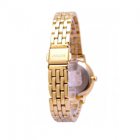 Đồng hồ nữ dây kim loại Julius Hàn Quốc JA-959B vàng