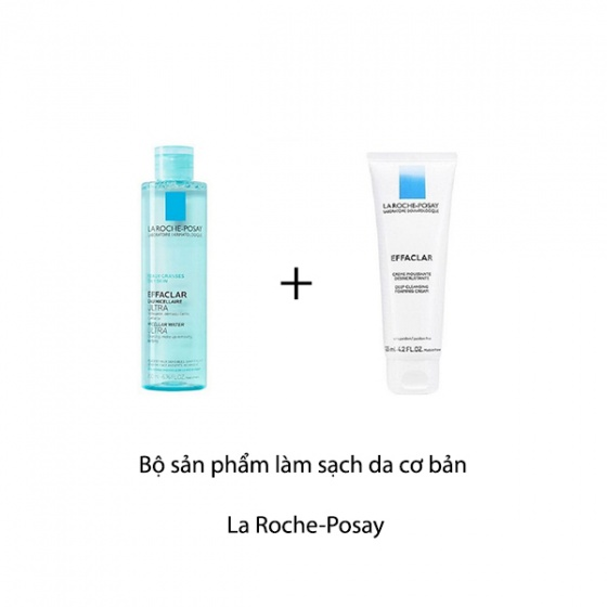 Bộ sản phẩm làm sạch da cơ bản La Roche-Posay