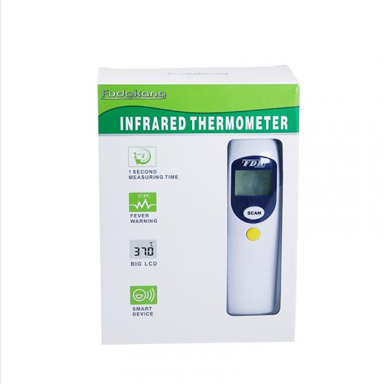 (Có quà tặng) Nhiệt kế điện tử hồng ngoại đo trán FDK FT-F31 - Tặng nhiệt kế điện tử đầu mềm USA MDF-008