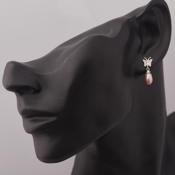Hoa tai ngọc trai - Opal - ET5-19
