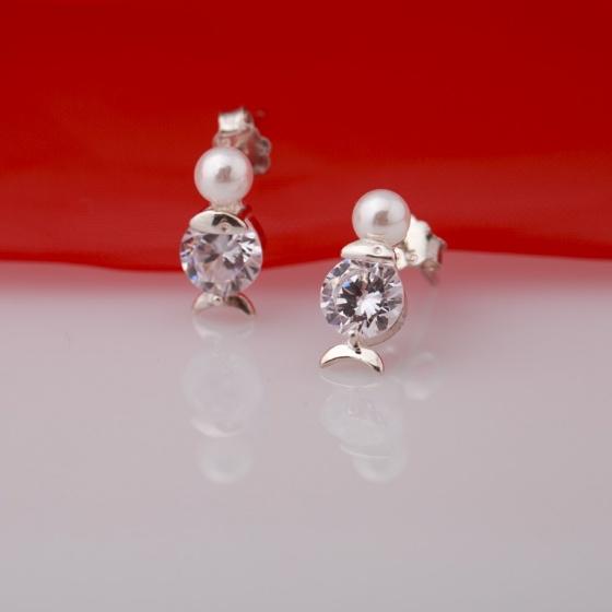Hoa tai ngọc trai - Opal - ET5-02
