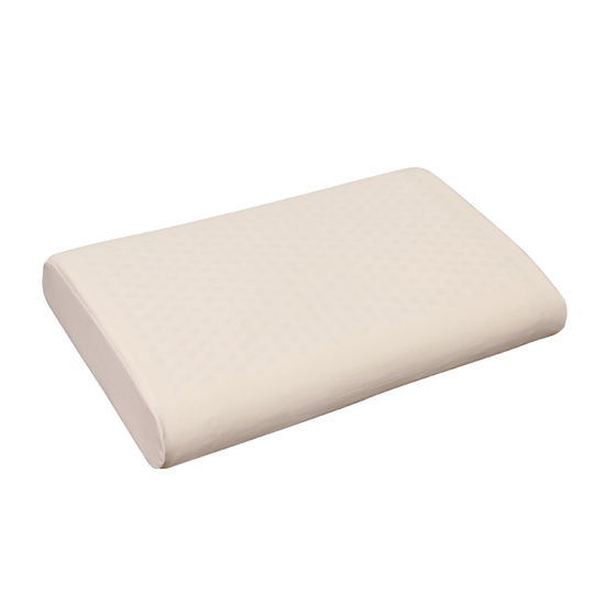Gối cao su thiên nhiên Kymdan Pillow IYASHI 48 x 28 x 7 cm - Tặng 1 áo gối
