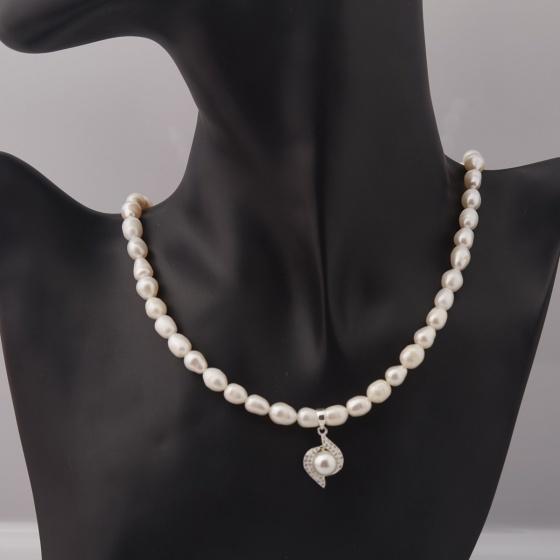 Vòng cổ Ngọc trai - Opal - NPT5-05