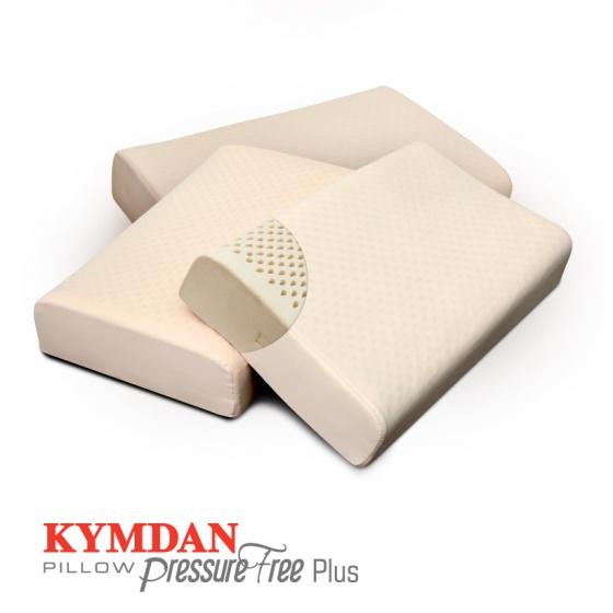 Combo 3 gối cao su thiên nhiên KYMDAN Pillow PressureFree Plus
