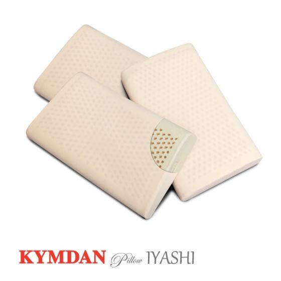 Combo 3 gối cao su thiên nhiên KYMDAN Pillow IYASHI 48 x 28 x 7 cm