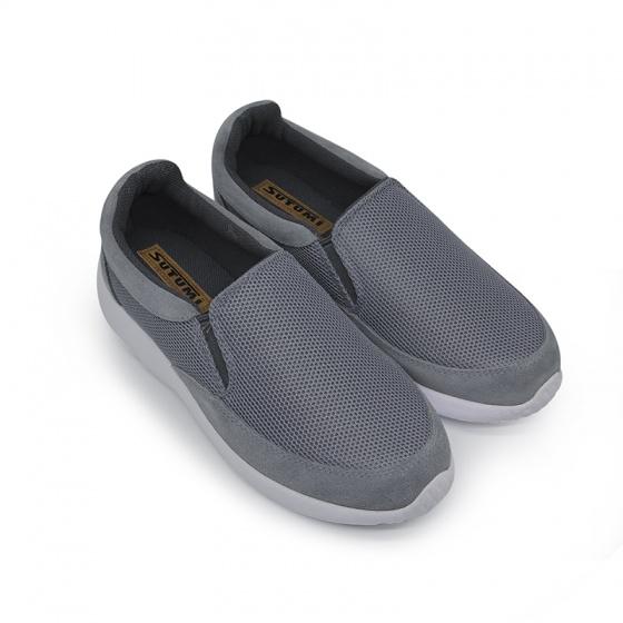 Giày slipon siêu nhẹ nam Sutumi M146-Grey