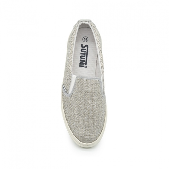 Giày lười nam Sutumi Sum1286 - Sandgrey